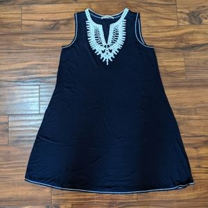 Philosophy brand dress size M dark blue